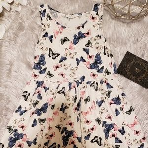 H&M Butterfly dress